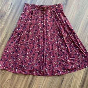 Lularoe Madison Midi Skirt